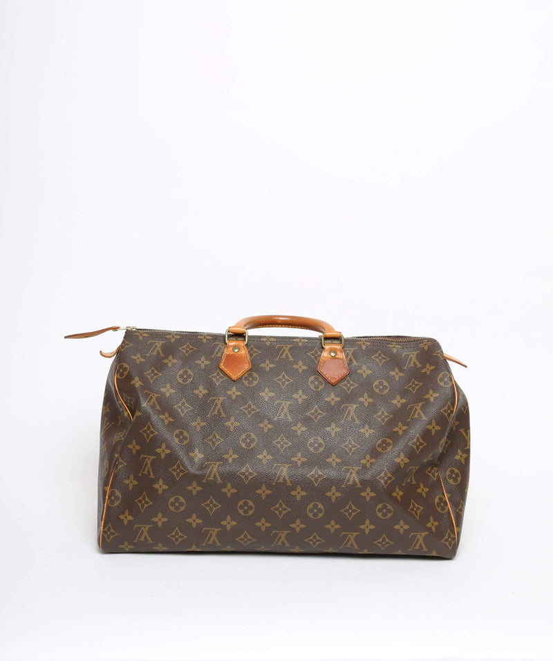Louis Vuitton LOUIS VUITTON Monogram Speedy 40 Hand Bag 894