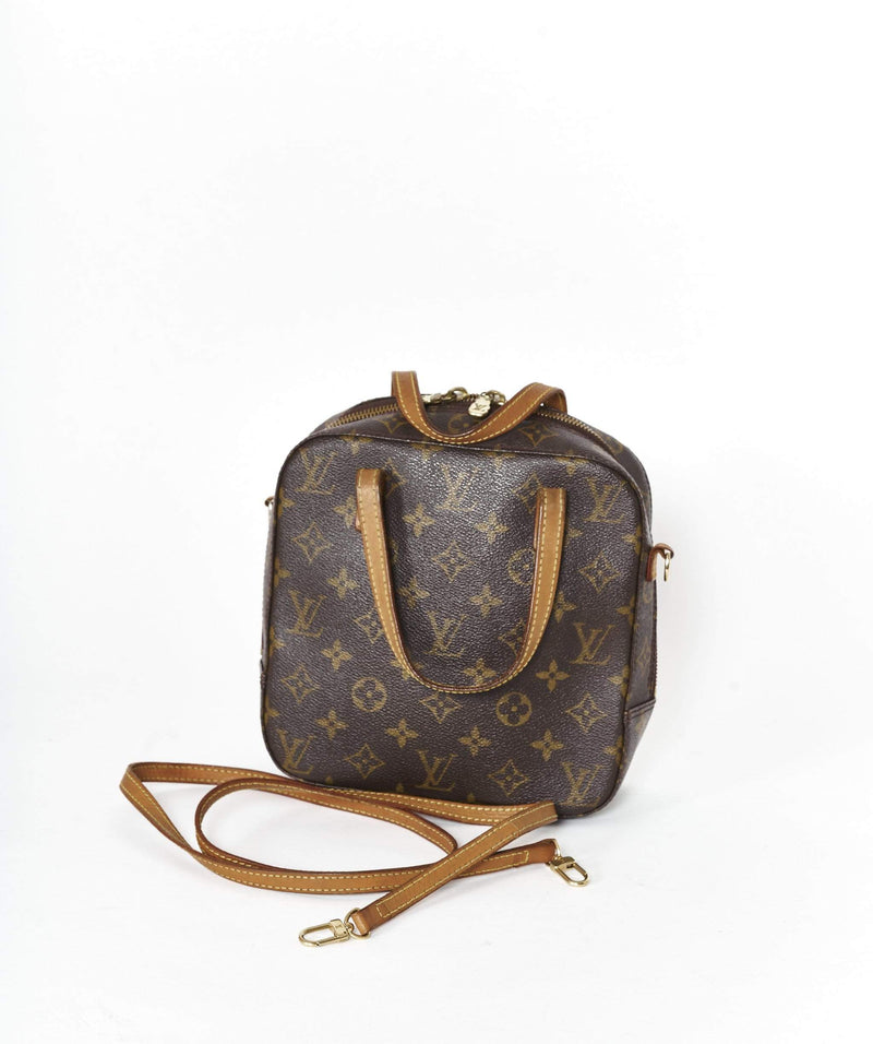 Louis Vuitton LOUIS VUITTON Monogram Spontini 2Way Shoulder Bag AR0053