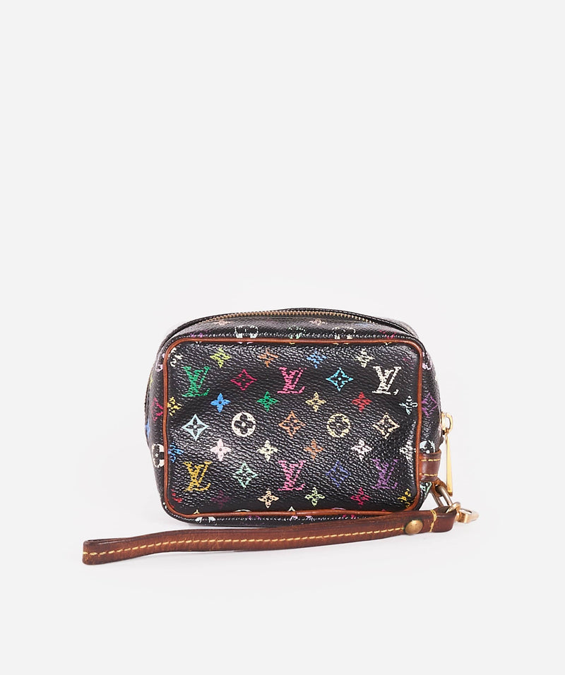 Louis Vuitton LOUIS VUITTON Multicolor Trousse Wapity Pouch Bag Black