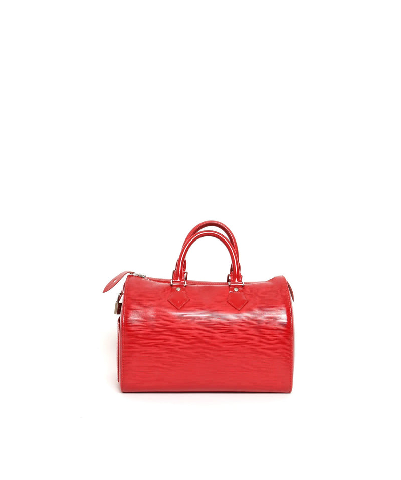 Louis Vuitton Louis Vuitton Speedy Epi Red SP0067