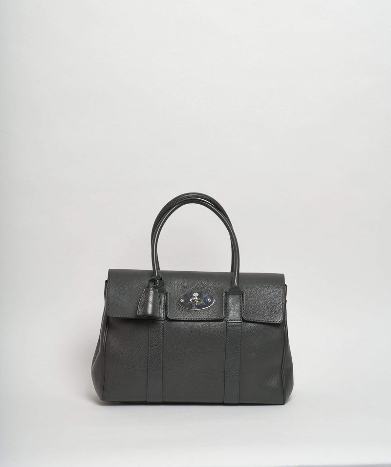 Mulberry Mulberry Bayswater Grey Leather Bag PHW