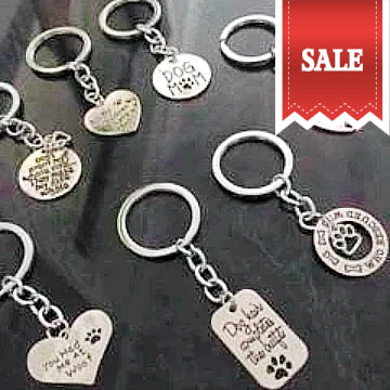 DOG LOVER KEY RING-gift-Freestyle Paws
