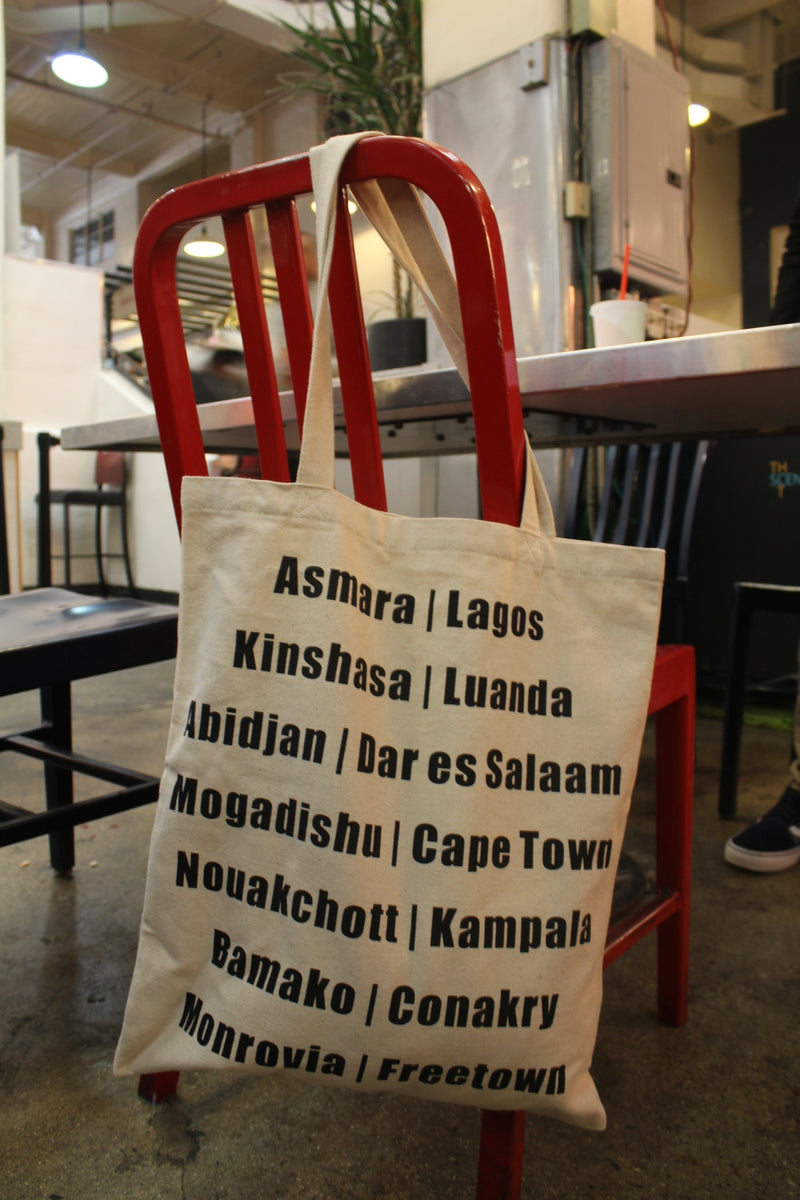 African City Canvas Bag