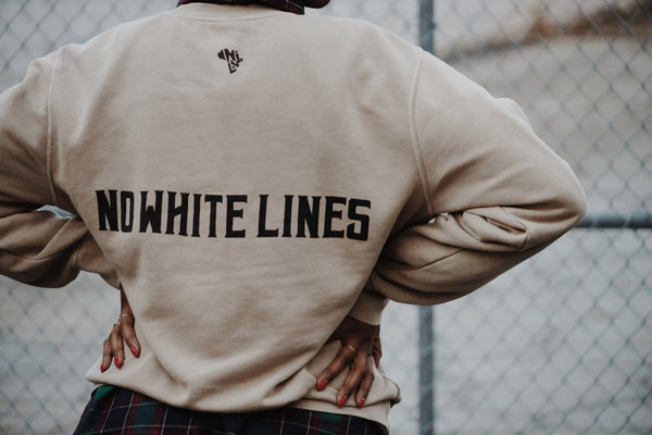 No White Lines Crewneck