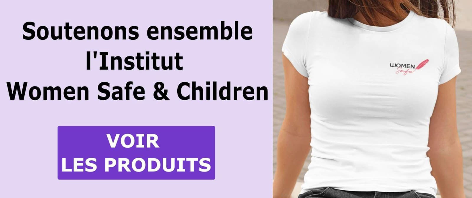 T shirt Institut Women Safe