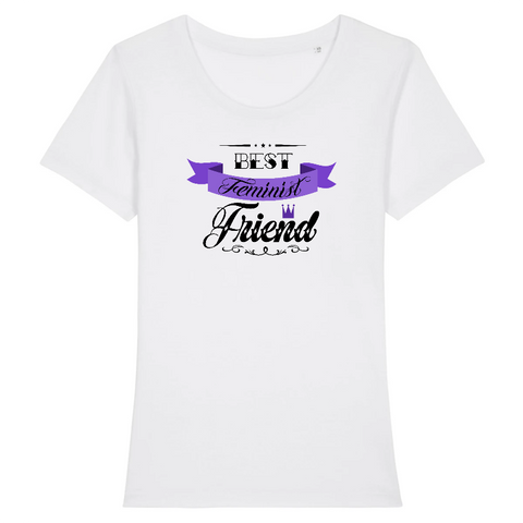 t shirt feministe best friend
