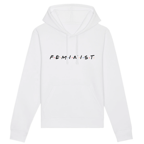 Feministe Friends sweat Blanc