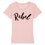t-shirt feministe ajuste rebel Rose