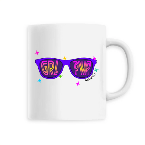 mug feministe girl power