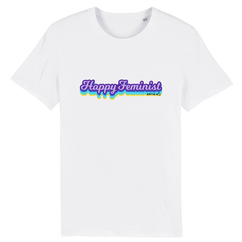 t-shirt feministe happiness