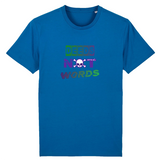 t-shirt feministe deeds not words