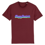 t-shirt feministe happy