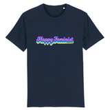 tee shirt feministe happy