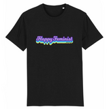 tee shirt feministe happiness