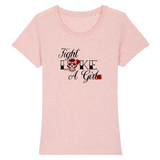 t shirt feministe fight like a girl