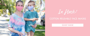 CottonCoverUp® Filter-Pocket Masks protect against airborne viruses for ultimate safety while awakening hope to express our public self in new and creative ways.