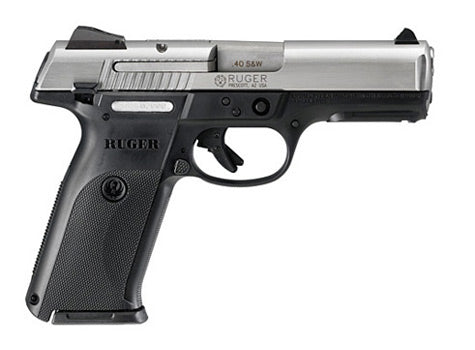 RUG SR-40 .40 S&W STAINLESS