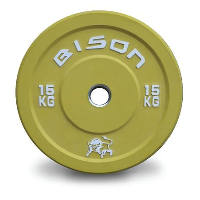 Bison™ Colour Olympic Lifting Bumper Plates