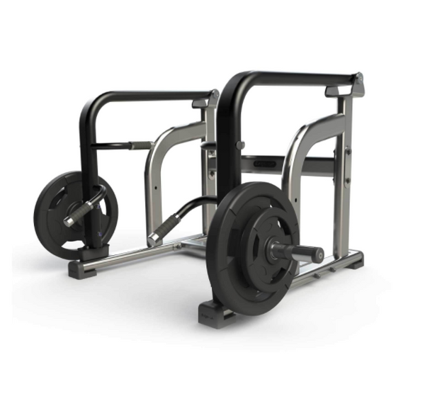 Exigo Iso Plate Loaded shrug/deadlift.