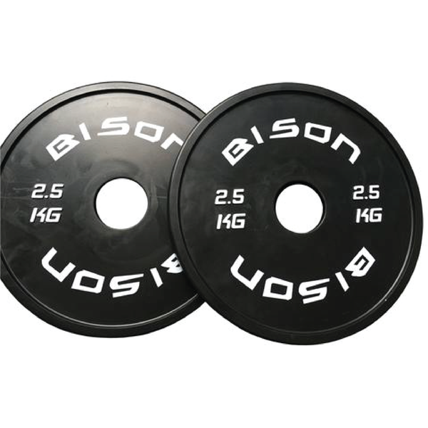 Black rubber fractional plates