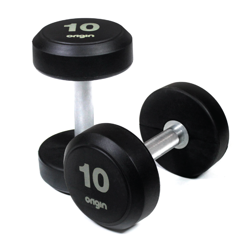 Origin RD2 Rubber Dumbbell Sets