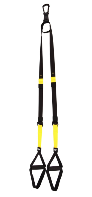 TRX club kit held vertically.