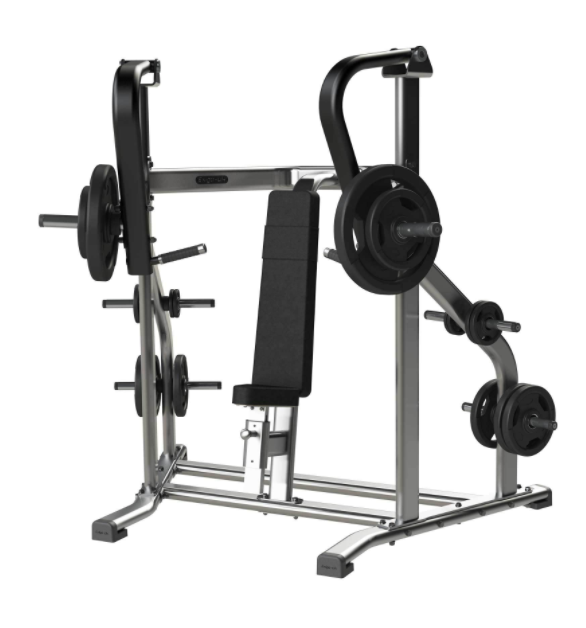 Exigo Iso Plate Loaded chest press.
