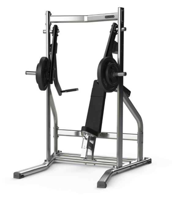 Exigo Iso Plate Loaded decline chest press.