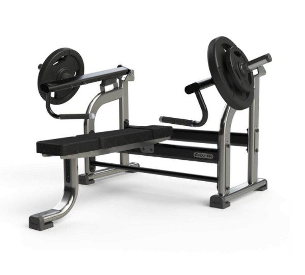 Exigo Iso Plate Loaded flat chest press.