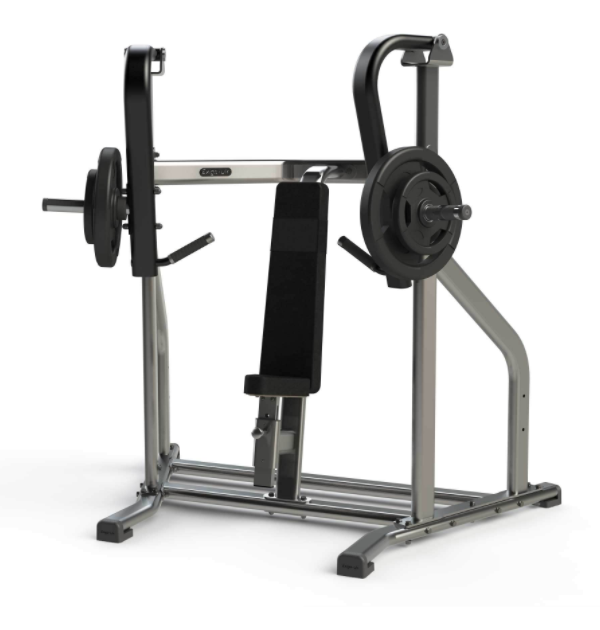 Exigo Iso Plate Loaded incline chest press.