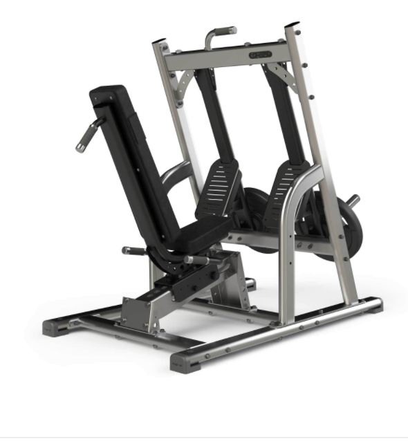 Exigo Iso Plate Loaded leg press.