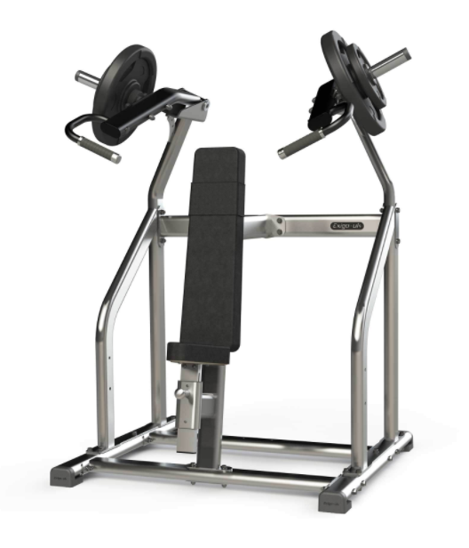 Exigo Iso Plate Loaded shoulder press.