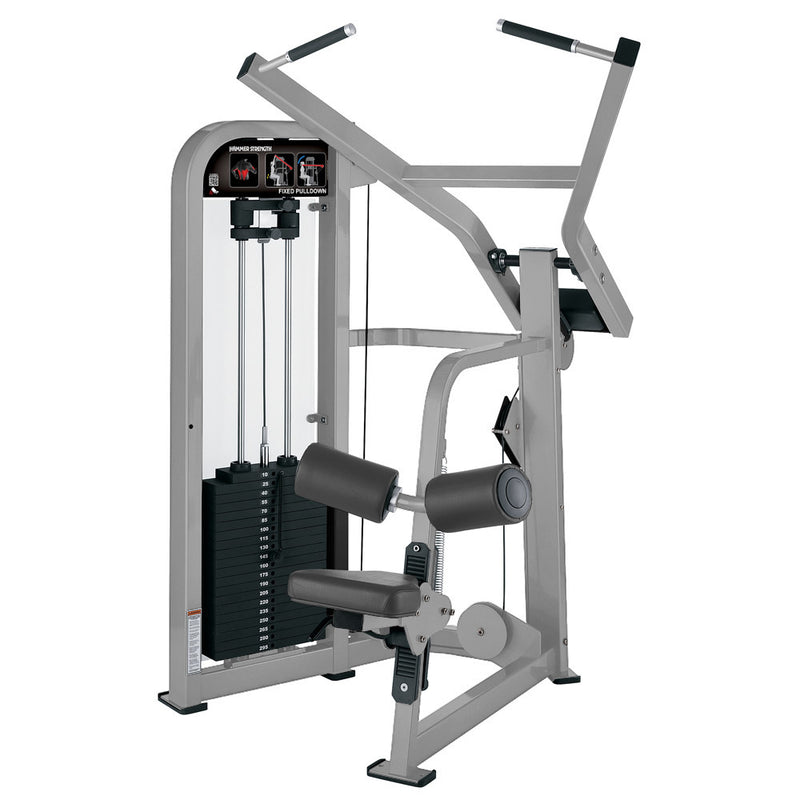 Hammer Strength Select Fixed Pulldown in all platinum.