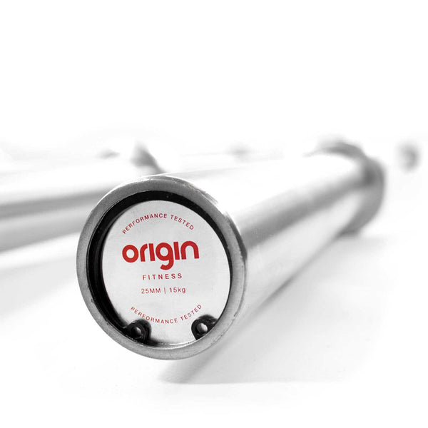 Origin Womens 15kg Brushed Steel Weight Bar