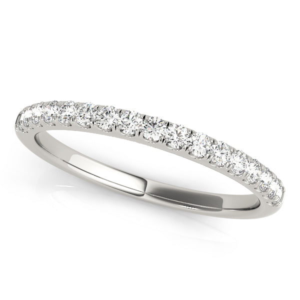 Classic Prong-Set Wedding Ring - Michael E. Minden Diamond Jewelers