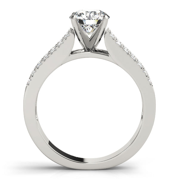 Three-Row Engagement Ring - Michael E. Minden Diamond Jewelers