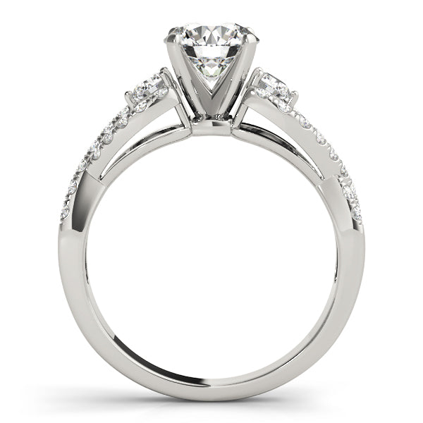 Twisted Vine Engagement Ring - Michael E. Minden Diamond Jewelers