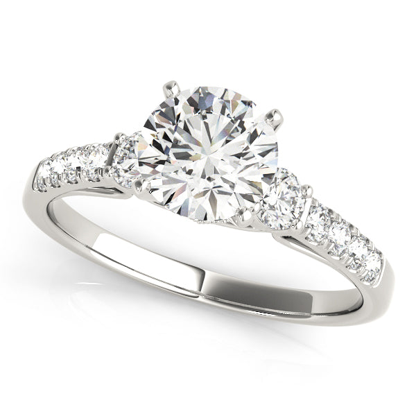 Round Classic Inspired Engagement Ring - Michael E. Minden Diamond Jewelers