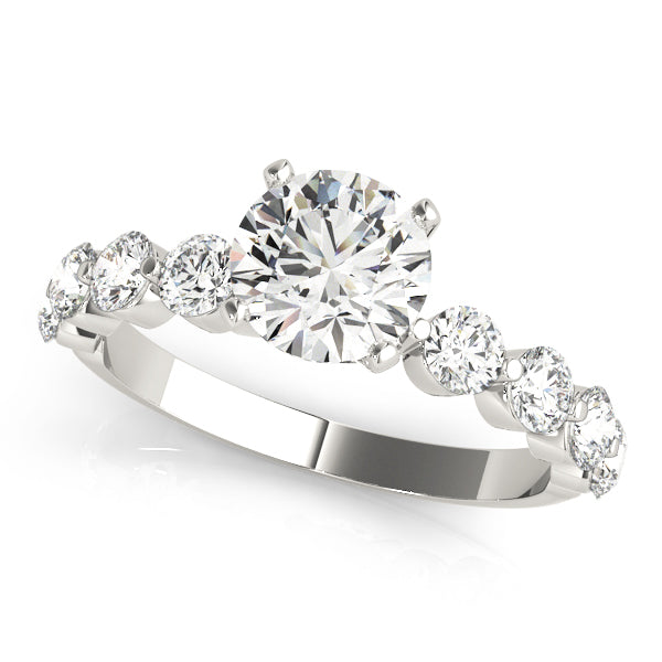 Round Cut Larger Classic Style Engagement Ring - Michael E. Minden Diamond Jewelers