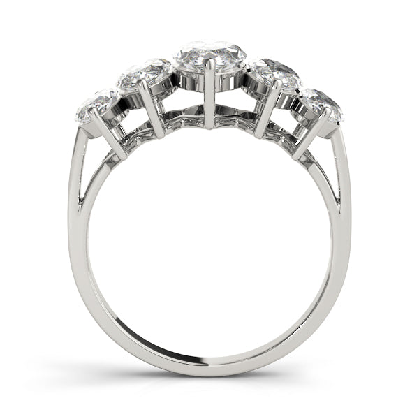Statement Marquise Wedding Ring - Michael E. Minden Diamond Jewelers