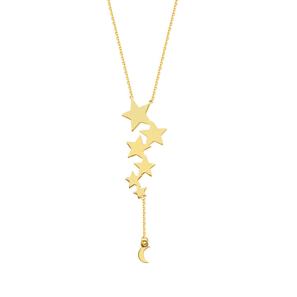 Celestial Lariat Necklace - Michael E. Minden Diamond Jewelers