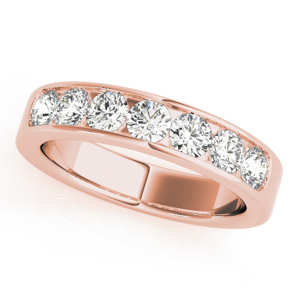 Classic Channel-Set Wedding Ring - Michael E. Minden Diamond Jewelers