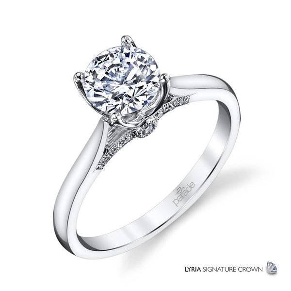 Simple Solitaire Engagement Ring - Michael E. Minden Diamond Jewelers