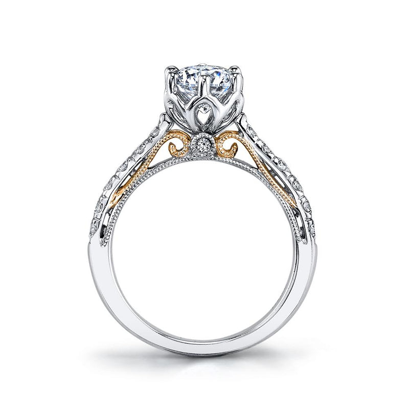 Diamond Engagement Ring - Michael E. Minden Diamond Jewelers