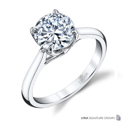 Lyria Solitaire Engagement Ring - Michael E. Minden Diamond Jewelers