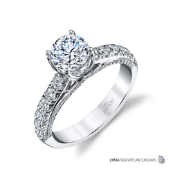 Lyria Engagement Ring - Michael E. Minden Diamond Jewelers