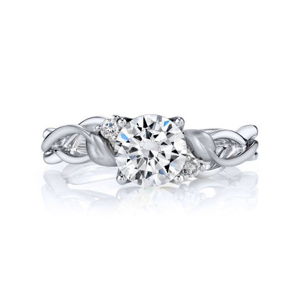Lyria Bridal Engagement Ring - Michael E. Minden Diamond Jewelers