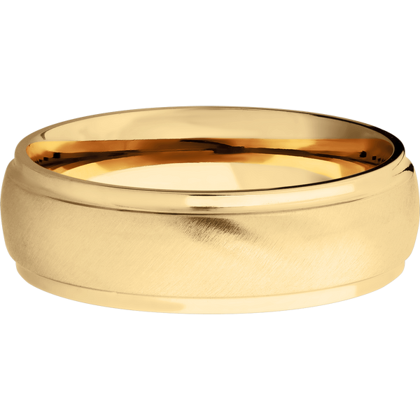 Comfort Fit Domed Men's Wedding Ring - Michael E. Minden Diamond Jewelers