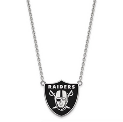 Las Vegas Raiders Enamel Necklace