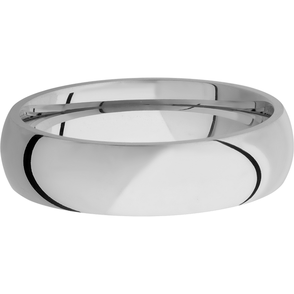 Titanium Men's Wedding Ring with a Polished Finish - Michael E. Minden Diamond Jewelers